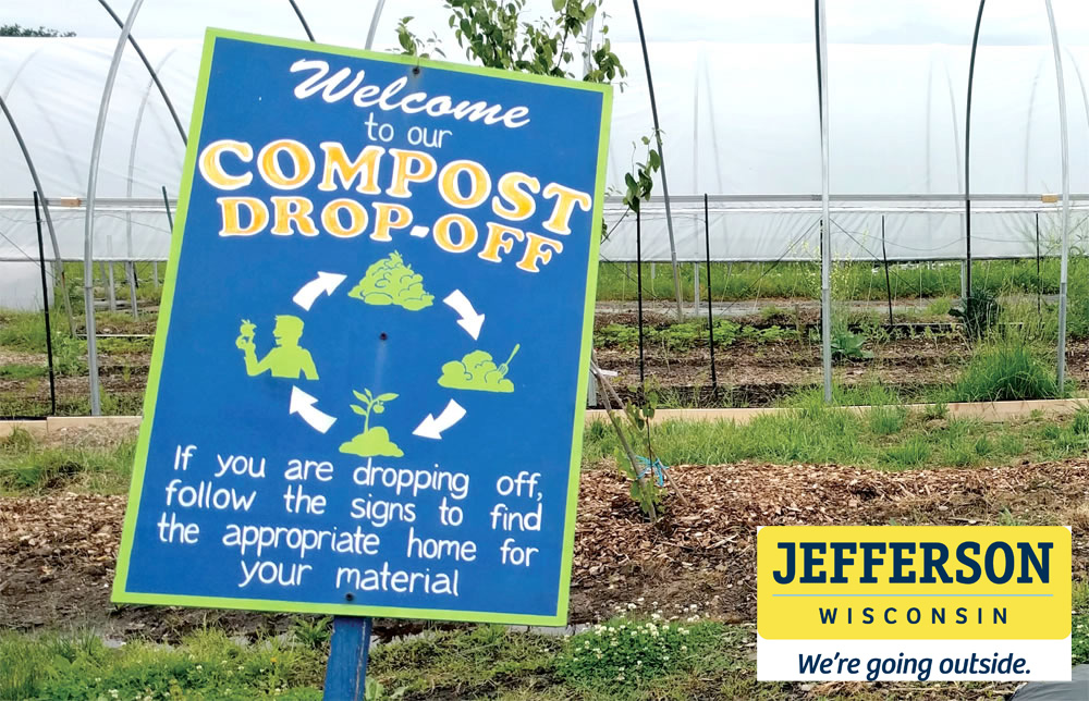 The compost site is open to City of Jefferson residents and is located at the end of Maple Grove Drive.  The site is open April through November and secured by 24-7 video surveillance.  If you observe unlawful dumping, please report it immediately to the Jefferson Police Department.  We appreciate all residents adhering to signage to properly place yard waste in designated areas.  Mulch and wood chips are free to City residents.  Thank you for cooperation.  Monday:         Closed Tuesday:         Closed Wednesday:   Open after 8am Thursday:       Closed Friday:            Open after 2pm Saturday:       Open all day Sunday:          Open all day